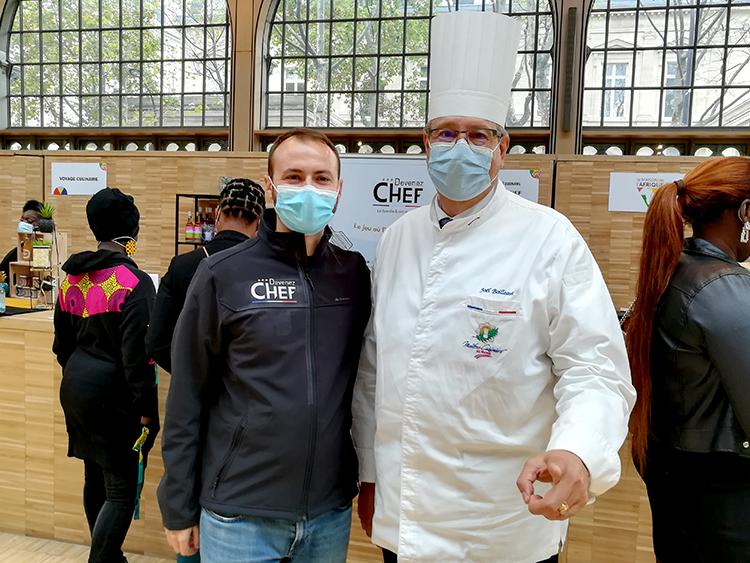 Guillaume Richard et Chef Joël Boilleaut vous attendaient ;)